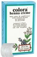 Colora - Henna Creme Hair Color & Conditioner Silver Fox - 2 oz.