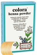 Colora - Henna Powder Natural Organic Hair Color Apricot Gold - 2 oz. by Colora