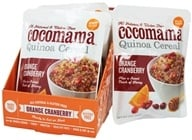 Cocomama - Quinoa Cereal Orange Cranberry - 5 oz., from category: Health Foods