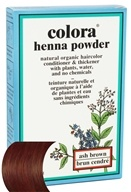 Image of Colora - Henna Powder Natural Organic Hair Color Ash Brown - 2 oz.
