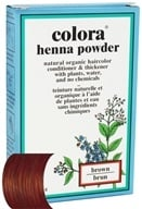 Image of Colora - Henna Powder Natural Organic Hair Color Brown - 2 oz.