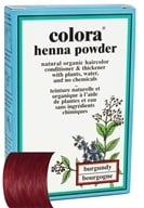 Image of Colora - Henna Powder Natural Organic Hair Color Burgundy - 2 oz.