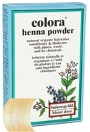 Colora - Henna Powder Natural Organic Hair Color Buttercup Blonde - 2 oz.
