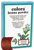 Image of Colora - Henna Powder Natural Organic Hair Color Chestnut - 2 oz.