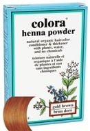 Colora - Henna Powder Natural Organic Hair Color Gold Brown - 2 oz. by Colora