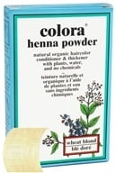 Image of Colora - Henna Powder Natural Organic Hair Color Wheat Blonde - 2 oz.