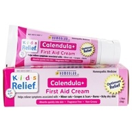 Homeolab USA - Kids Relief Calendula+ First Aid Cream - 1.76 oz. CLEARANCED PRICED, from category: Homeopathy