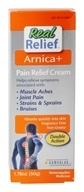 Homeolab USA - Real Relief Arnica+ Pain Relief Cream - 1.76 oz.