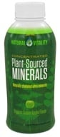 Natural Vitality - Plant-Source Minearals Organic Green Apple - 16 oz.