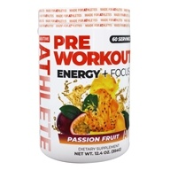 About Time - AUX Auxiliary Energy Pre Workout Formula Passion Fruit - 207 Grams by About Time