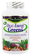 Paradise Herbs - Orac-Energy Greens - 120 Vegetarian Capsules, from category: Nutritional Supplements
