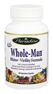 Paradise Herbs - Rhino Mens Vitality Formula - 60 Vegetarian Capsules, from category: Herbs