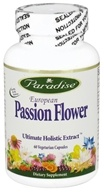 Paradise Herbs - European Passion Flower - 60 Vegetarian Capsules CLEARANCED PRICED - $10