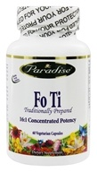 Paradise Herbs - Fo Ti - 60 Vegetarian Capsules, from category: Herbs