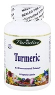 Paradise Herbs - Turmeric 500 mg. - 90 Vegetarian Capsules, from category: Herbs