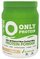 Only Protein - 100% All Natural New Zealand Grass Fed Whey Protein Powder Vanilla - 1.25 lbs.