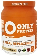 Only Protein - 100% All Natural New Zealand Grass Fed Whey Meal Replacement Vanilla - 1.25 lbs.