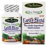 Paradise Herbs - Orac-Energy Multi-One No Added Iron - 30 Vegetarian Capsules (601944778262)