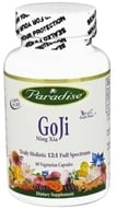 Image of Paradise Herbs - GoJi Ning Xia 400 mg. - 60 Vegetarian Capsules CLEARANCED PRICED