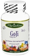 Paradise Herbs - GoJi Ning Xia 400 mg. - 60 Vegetarian Capsules CLEARANCED PRICED, from category: Nutritional Supplements