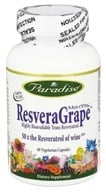 Paradise Herbs - 100% Pure MedVita ResveraGrape - 60 Vegetarian Capsules, from category: Nutritional Supplements