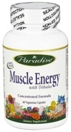 Paradise Herbs - Muscle Energy with Tribulus - 60 Vegetarian Capsules CLEARANCED PRICED - $11.67