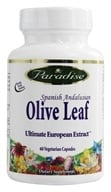 Paradise Herbs - Spanish Andalusian Olive Leaf - 60 Vegetarian Capsules