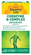 Country Life - Coenzyme B-Complex Advanced - 60 Vegetarian Capsules, from category: Vitamins & Minerals