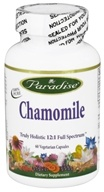 Paradise Herbs - Chamomile - 60 Vegetarian Capsules CLEARANCED PRICED