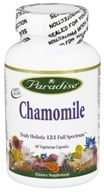Paradise Herbs - Chamomile - 60 Vegetarian Capsules CLEARANCED PRICED, from category: Herbs
