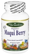 Paradise Herbs - Organic Maqui Berry - 60 Vegetarian Capsules, from category: Nutritional Supplements