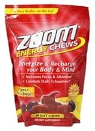 Healthy Natural Systems - Zoom Energy Chews Cherry - 60 Chews
