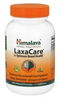 Image of Himalaya Herbal Healthcare - LaxaCare for Optimum Bowel Health - 60 Vegetarian Capsules