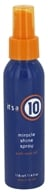 It's a 10 - Miracle Shine Hair Spray with Noni Oil - 4 oz., from category: Personal Care