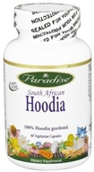 Paradise Herbs - South African Hoodia - 60 Vegetarian Capsules CLEARANCED PRICED - $10