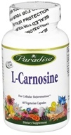Paradise Herbs - L-Carnosine - 60 Vegetarian Capsules, from category: Nutritional Supplements