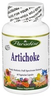 Paradise Herbs - Artichoke - 60 Vegetarian Capsules, from category: Herbs
