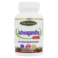 Paradise Herbs - Organic Aswagandha - 60 Vegetarian Capsules, from category: Herbs