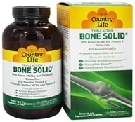 Image of Country Life - Triple Action Bone Solid Bone Strengthener - 240 Capsules