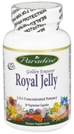 Paradise Herbs - Golden Emperor Royal Jelly - 30 Vegetarian Capsules (601944777258)