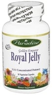 Paradise Herbs - Golden Emperor Royal Jelly - 30 Vegetarian Capsules, from category: Nutritional Supplements