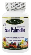 Paradise Herbs - Saw Palmetto - 30 Liquid Vegetarian Capsules, from category: Herbs
