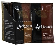 Artisana - 100% Organic Raw Walnut Butter Squeeze Pack - 1.19 oz. by Artisana