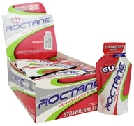 GU Energy - Roctane Ultra Endurance Energy Gel Strawberry Kiwi - 1.1 oz. by GU Energy