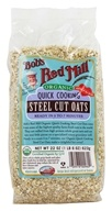 Image of Bob's Red Mill - Quick Cooking Steel Cut Oats Organic - 22 oz.