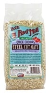 Bob's Red Mill - Quick Cooking Steel Cut Oats Organic - 22 oz. - $4.10