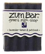Indigo Wild - Zum Bar Goat's Milk Soap Lavender-Lemon & Patchouli - 3 oz. by Indigo Wild