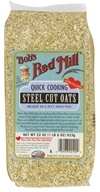 Bob's Red Mill - Quick Cooking Steel Cut Oats - 22 oz. (039978001900)
