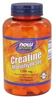 NOW Foods - Creatine Monohydrate 1200 mg. - 150 Tablet(s) - $12.59