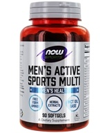 Image of NOW Foods - Men's Extreme Sports Multi - 90 Softgels